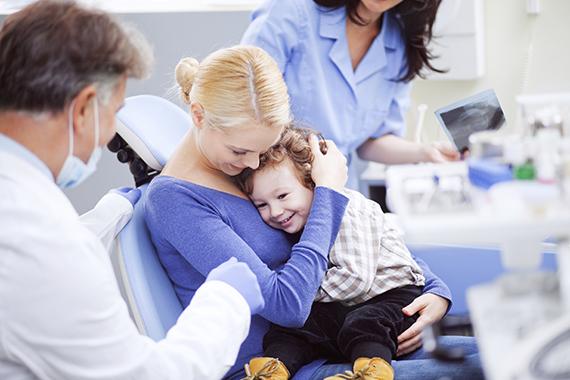 С ребенком – к стоматологу. Особенности первого приема - thumbnail